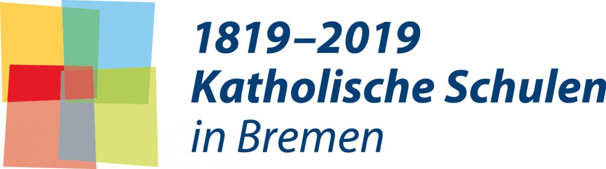 Logo 200 Jahre Katholische Schulen in Bremen von Christine Klein