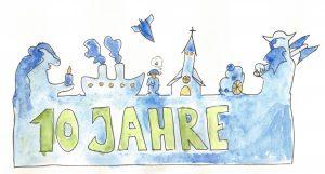 Wortmarke 10 Jahre Retrokonzepte von Dirk Wahlers