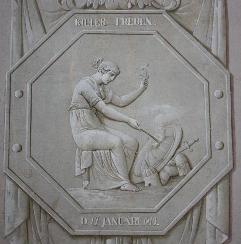 Allegorie auf den Kieler Frieden in Skoklosters Slott, Foto von Sonja Kinzler