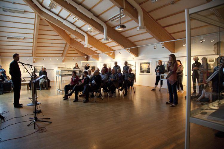 Ansicht aus der Ausstellung Nordlandreise in Harstad 1, Foto von Nina Mørk Johansen