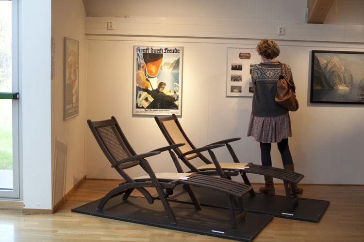 Ansicht aus der Ausstellung Nordlandreise in Harstad 5, Foto von Nina Mørk Johansen