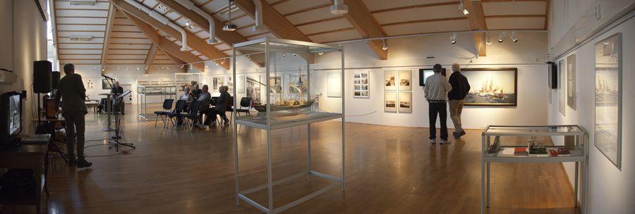 Panorama aus der Ausstellung Nordlandreise in Harstad 1, Foto von Nina Mørk Johansen