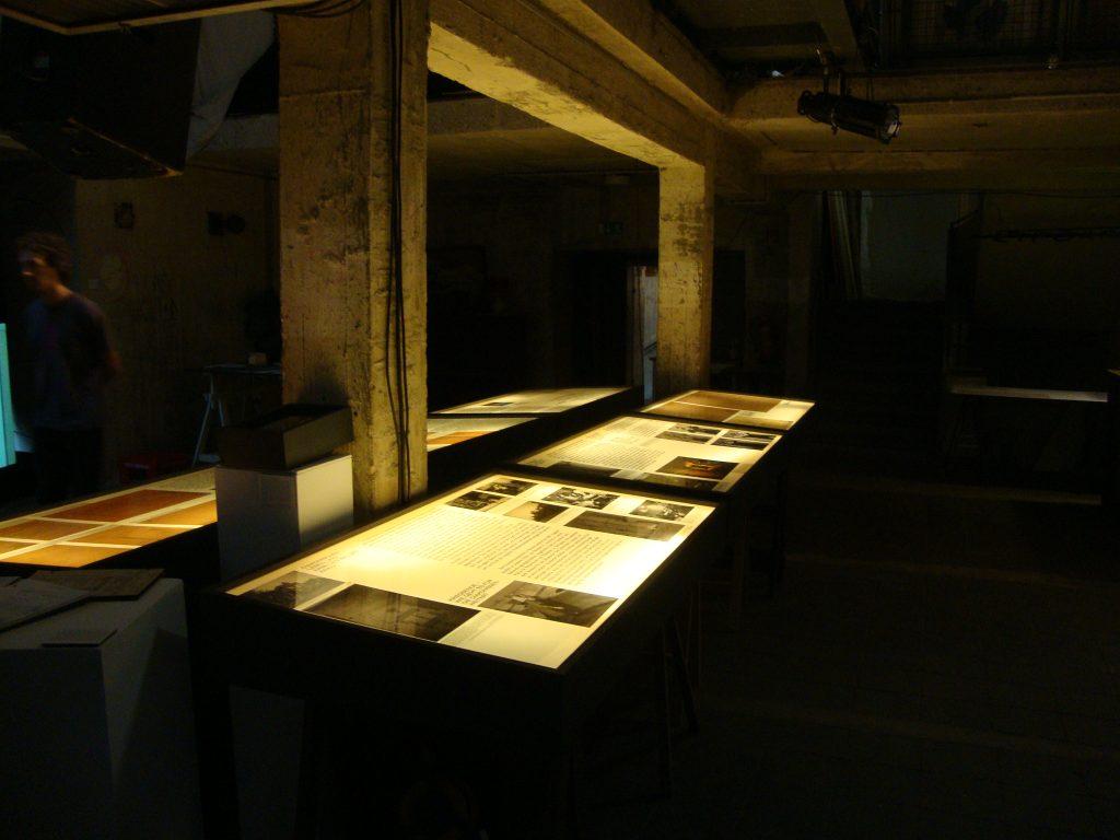 Einblick in die Bunkerausstellung, Bild 1, Foto: Retrokonzepte