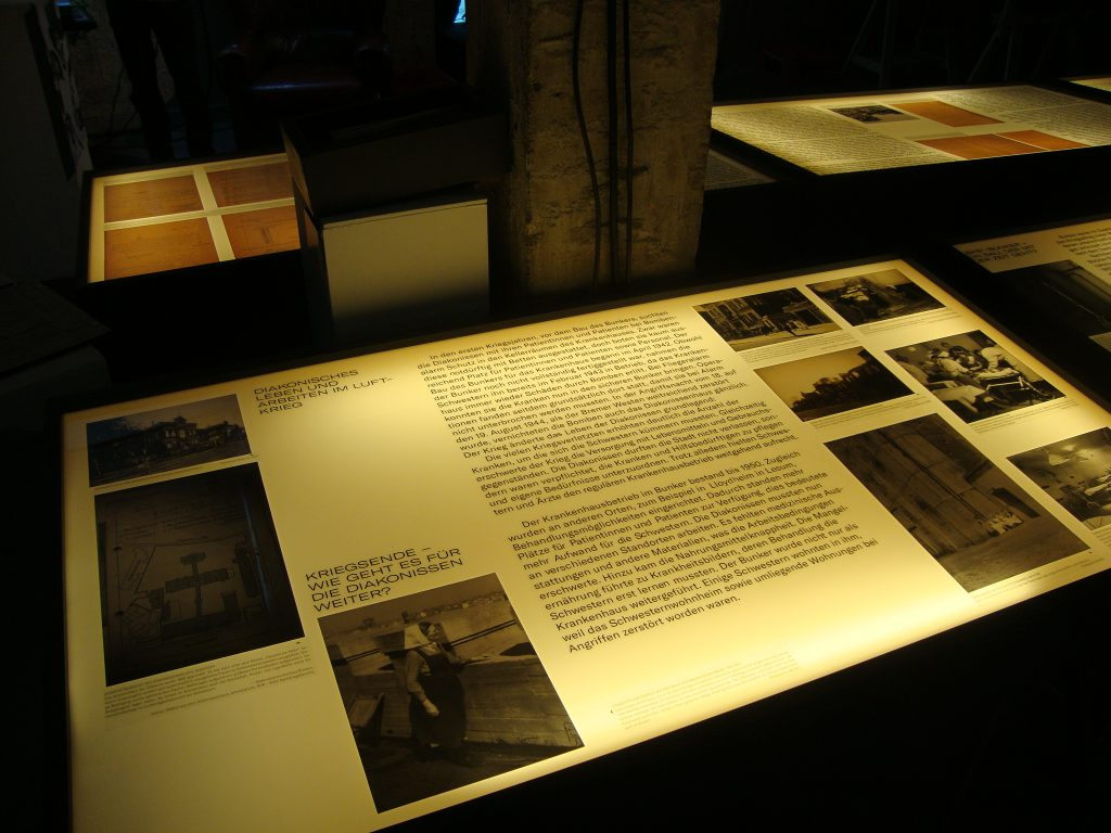Einblick in die Bunkerausstellung, Bild 2, Foto: Retrokonzepte