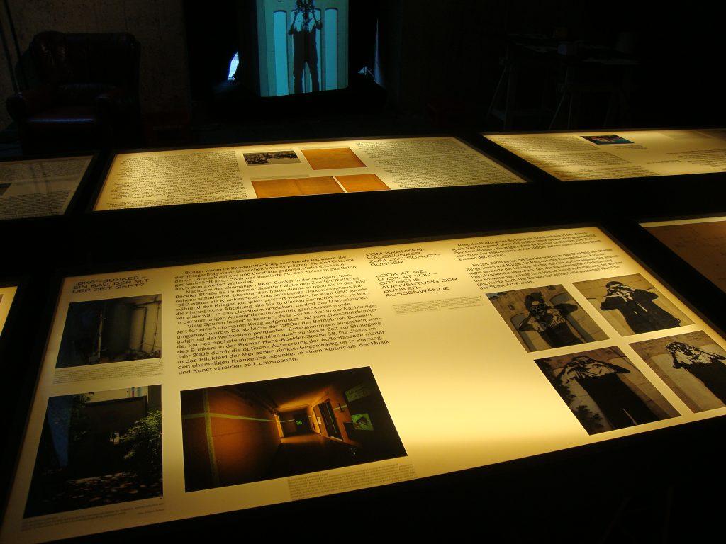 Einblick in die Bunkerausstellung, Bild 3, Foto: Retrokonzepte