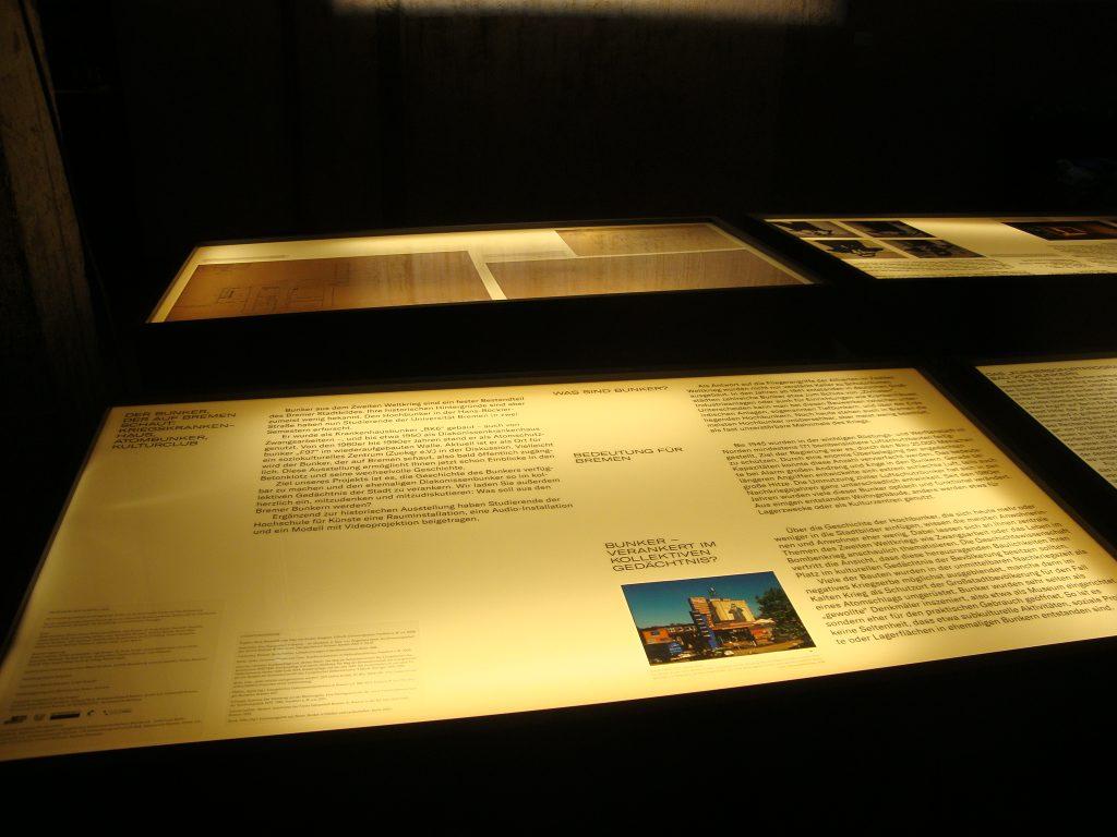 Einblick in die Bunkerausstellung, Bild 4, Foto: Retrokonzepte