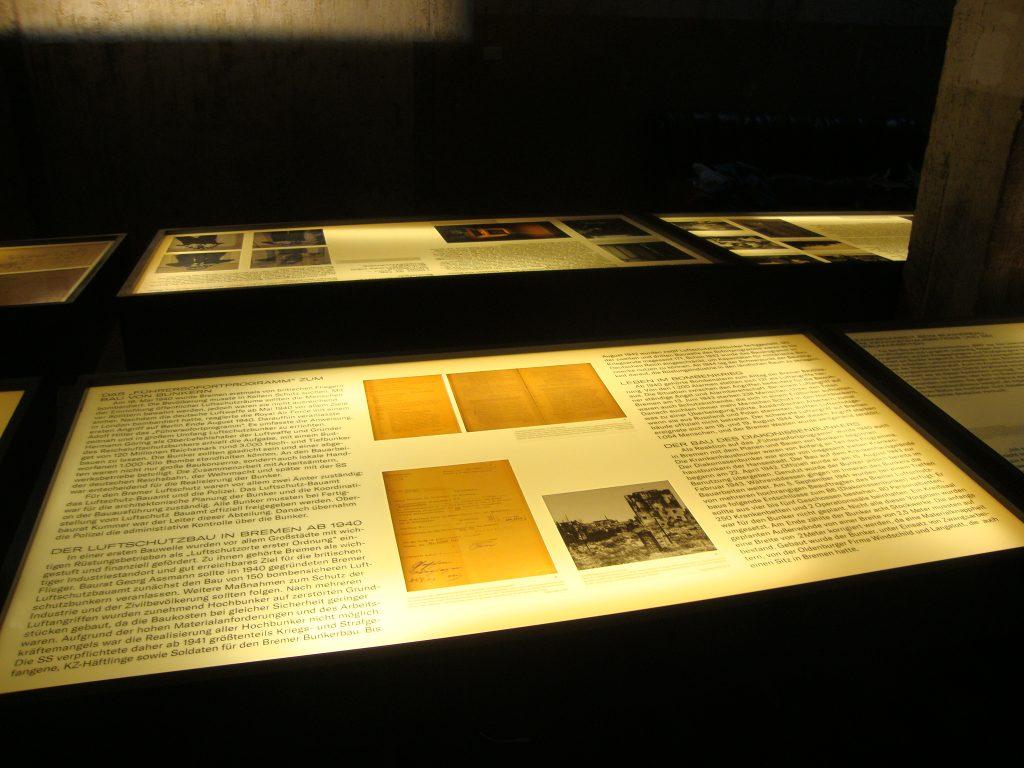 Einblick in die Bunkerausstellung, Bild 5, Foto: Retrokonzepte