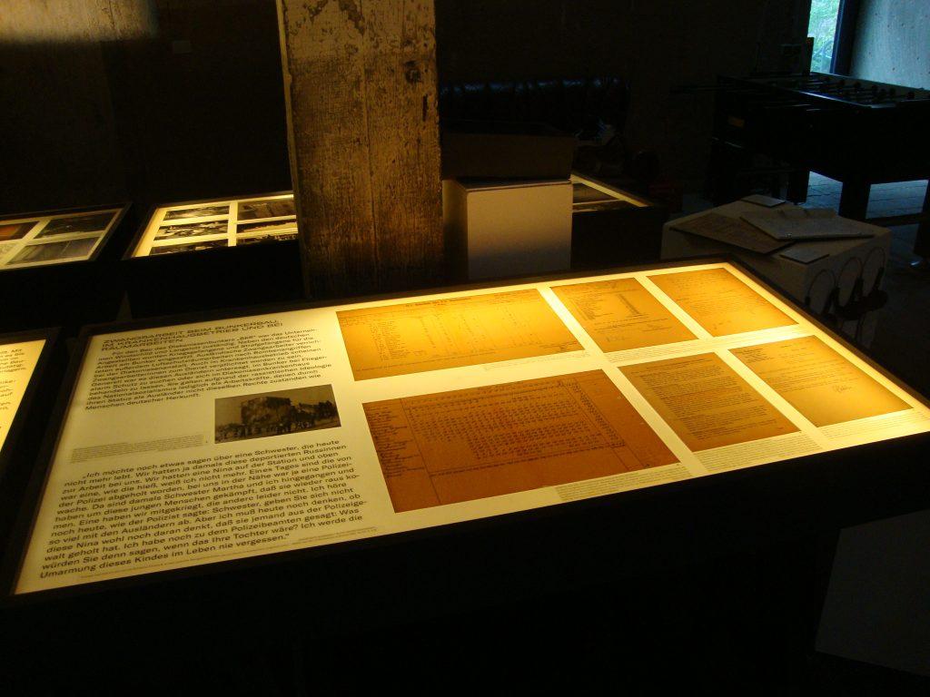 Einblick in die Bunkerausstellung, Bild 6, Foto: Retrokonzepte
