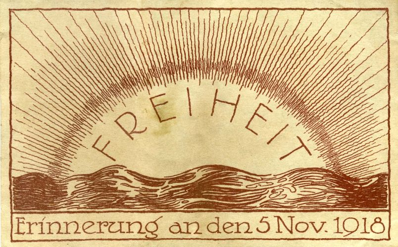 Erinnerung an den 5. November 1918 aus dem Stadtarchiv Kiel