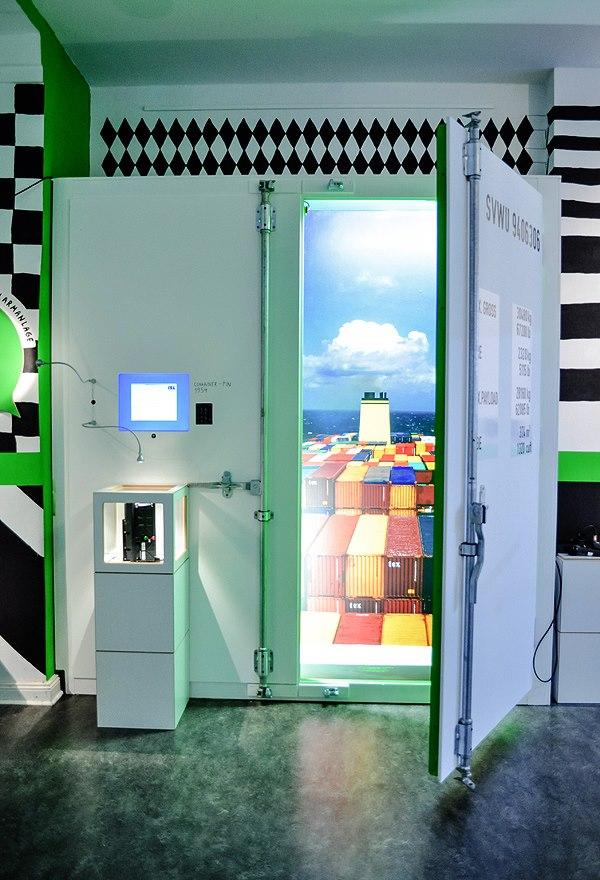 Einblick in die Ausstellung EINFACH WISSENSWERT Logistik, Foto von ZwoAcht