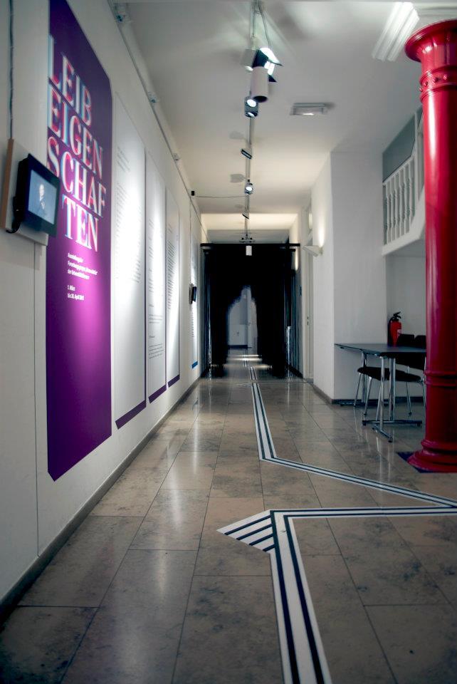 Einblick in die Ausstellung LeibEigenschaften 2, Foto von ZwoAcht