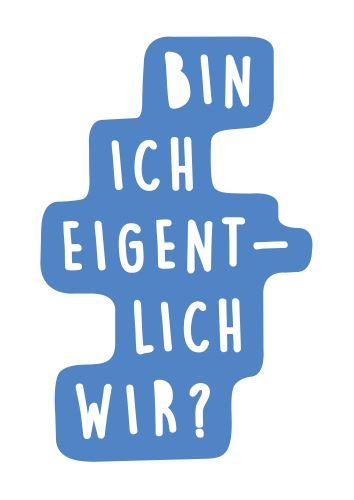 Postkarte aus der Ausstellung EINFACH WISSENSWERT Sozialwissenschaf von ZwoAcht