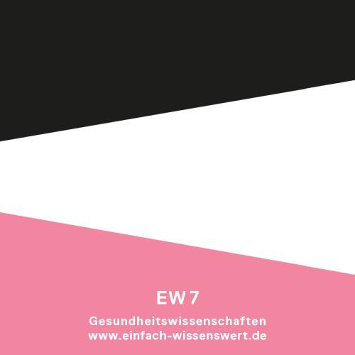 Sticker EINFACH WISSENSWERT Gesundheitswissenschaften von Zwo.Acht