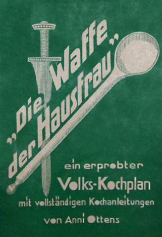 Umschlag »Die Waffe der Hausfrau«, Foto aus dem Kieler Stadt- und Schifffahrtsmuseum